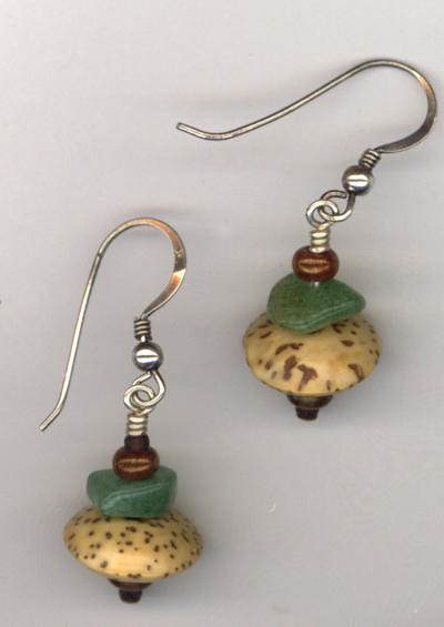 Portabello ~ Gemstone Sterling Earrings