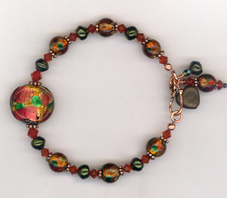 Harvest IS LW Copper Bracelet