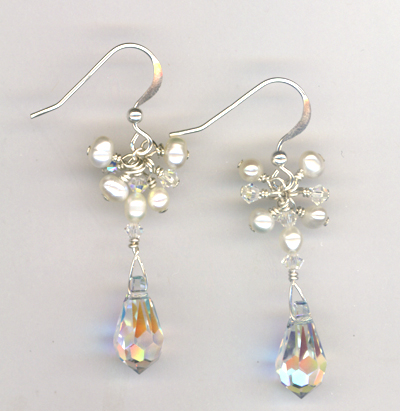 Gail's Bridal Earrings