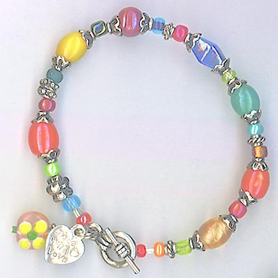 Whimsy  Girly Girl Bracelet