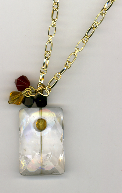 White Ice Queen Necklace