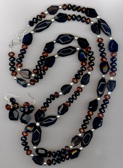 Private Collection Necklace/Earrings Set