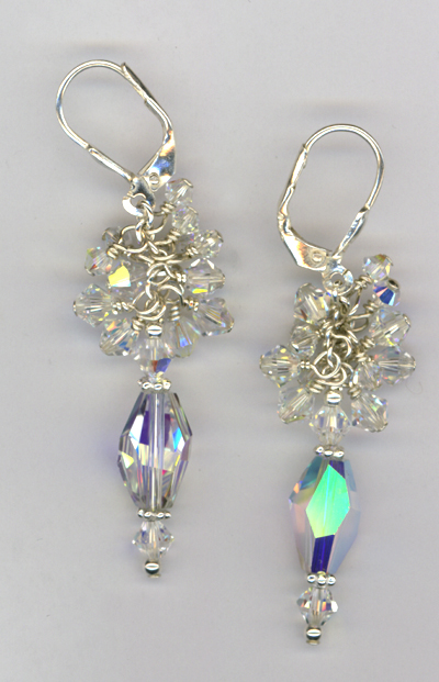 Swarovski Crystal Custom Bridal Earrings