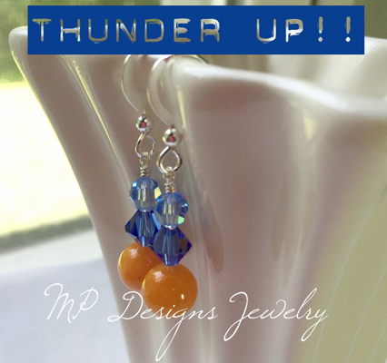 Thunder Up! Earrings