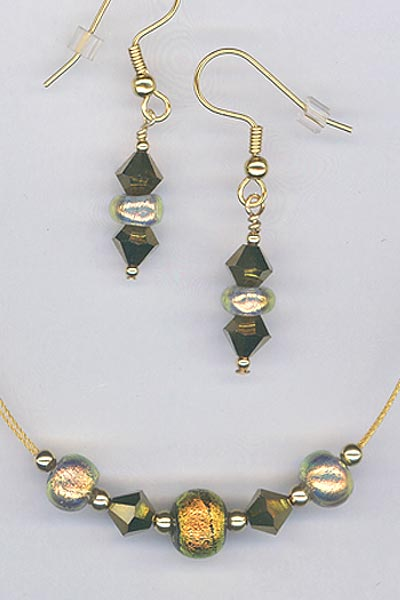 Paula Radke gold set