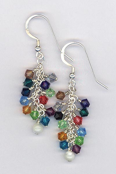 YAB Crystal Earrings