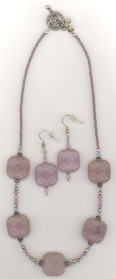 lovely in lavender jade set