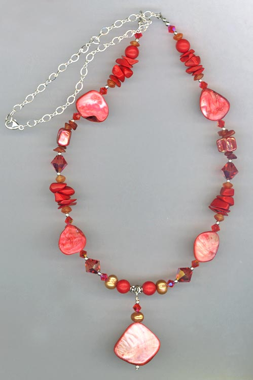 Red Hot Chili Pepper Necklace