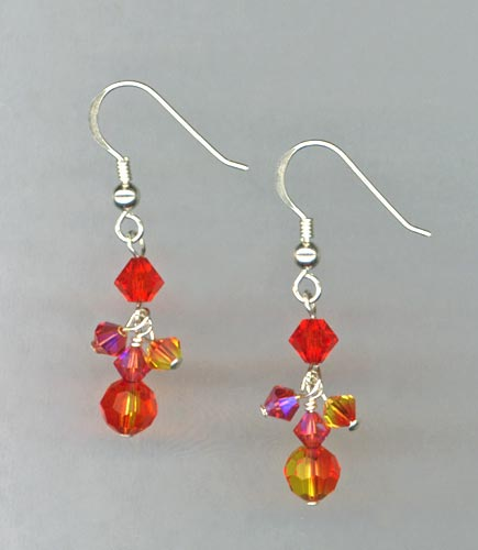 Red Hot Chili Pepper Earrings
