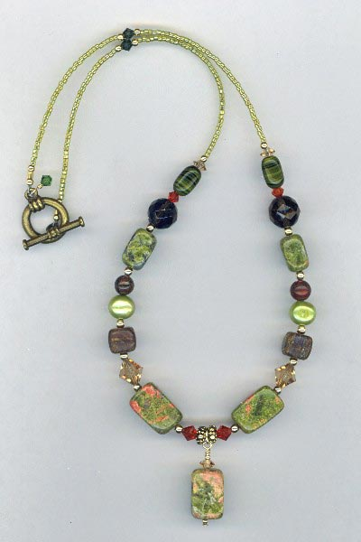 harvest home necklace