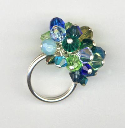 Shades Of Blue Cha-Cha Ring